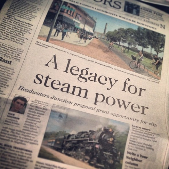 """A Legacy for Steam Power"""