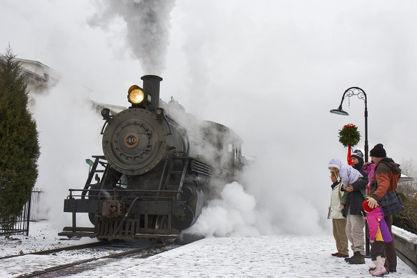 Headwaters Junction at Riverfront Fort Wayne - Polar Express