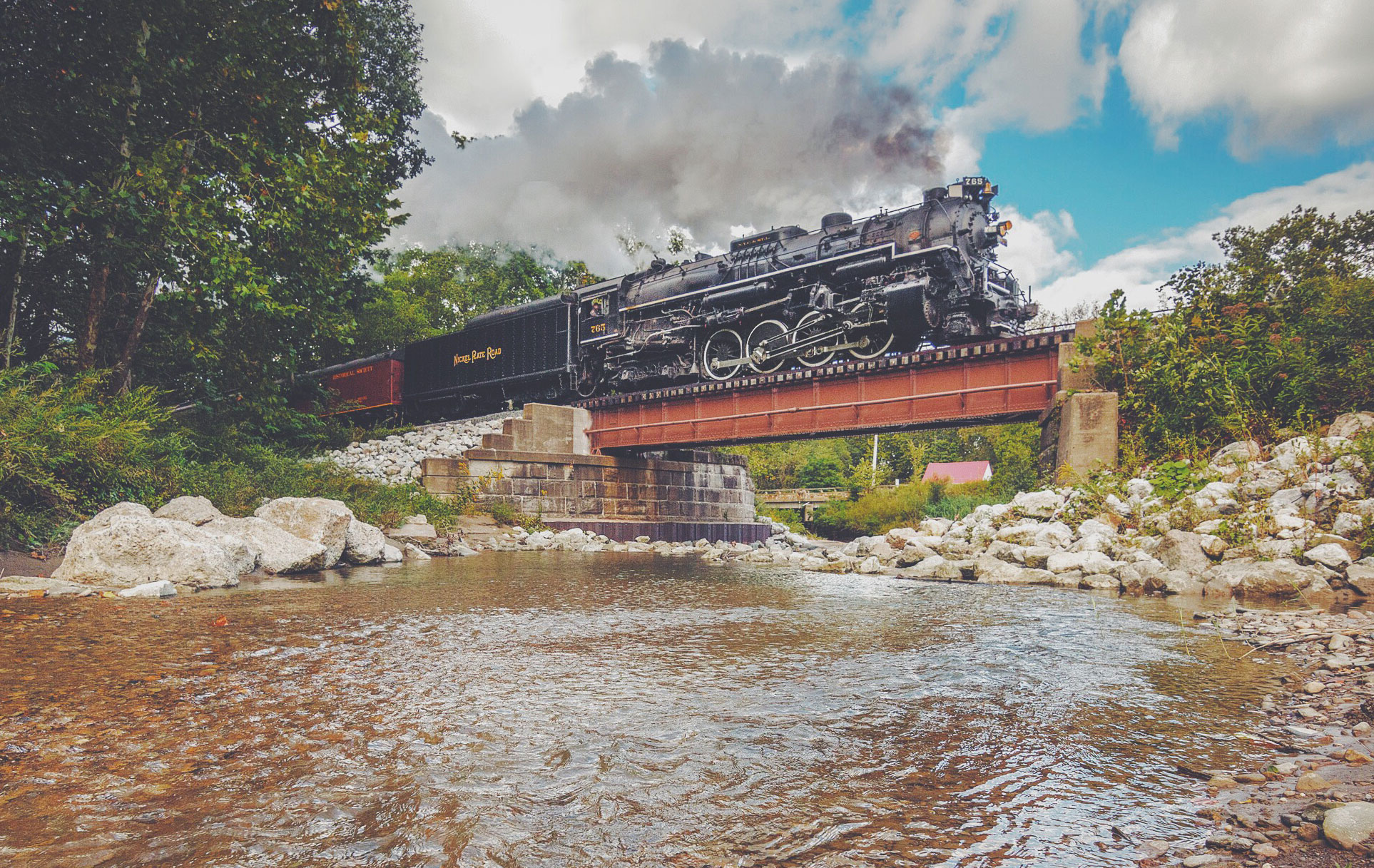 Headwaters Junction project reality as steam locomotive idea grows