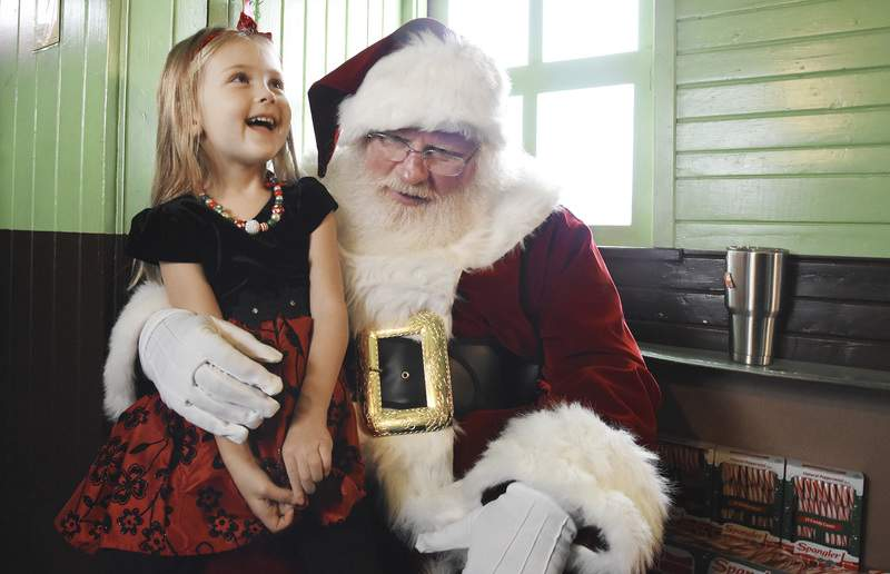 Santa Train's appeal only picks up steam